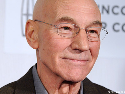 WATCH: Patrick Stewart Comes Out In Support of Antigay Bakery