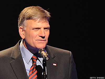 Franklin Graham Defends Wells Fargo Boycott, Says Bank Advocated Antibiblical 'Lifestyle'