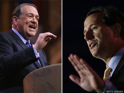 Mike Huckabee, Rick Santorum Sign Antigay Pledge With Who's Who of Wingnuts
