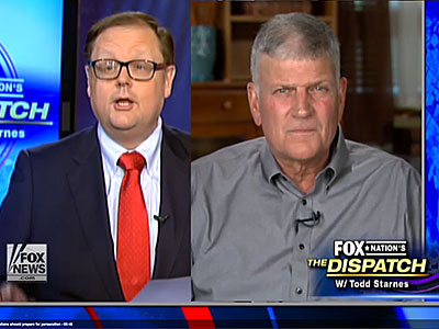 WATCH: Franklin Graham Says, 'I Believe God Could Bring Judgment Upon America'