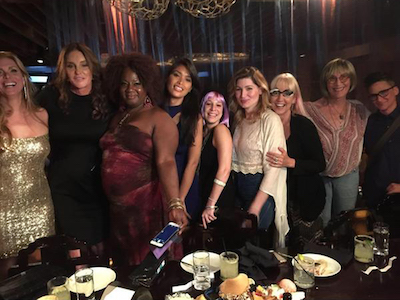 Caitlyn Jenner Steps Out with Transgender Celebrities
