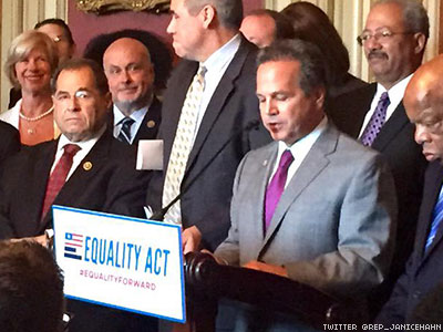 Sweeping Federal LGBT Rights Bill from Senate, House Democrats Has Huge Support in New Poll