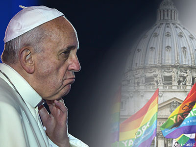 Op-ed: The Pope Needs to Confront LGBT Issues During His Visit