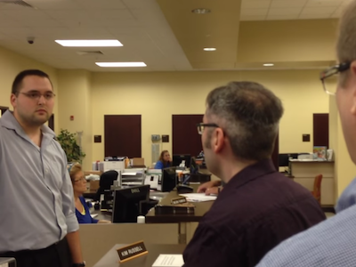 CAUGHT ON CAMERA: Antigay Kentucky Clerk Refuses Gay Couple Marriage License