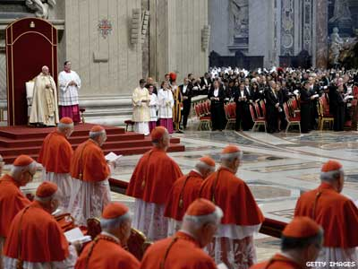 Vatican Says Transgender People Cannot Be Godparents