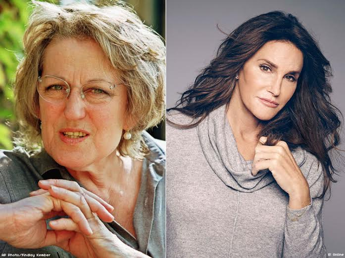 Germaine Greer and Caitlyn Jenner