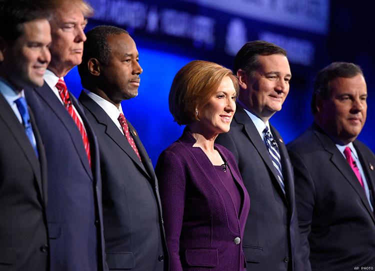 DEBATE: Prime-Time Event Mostly on Economy, But LGBT Issues Come Up