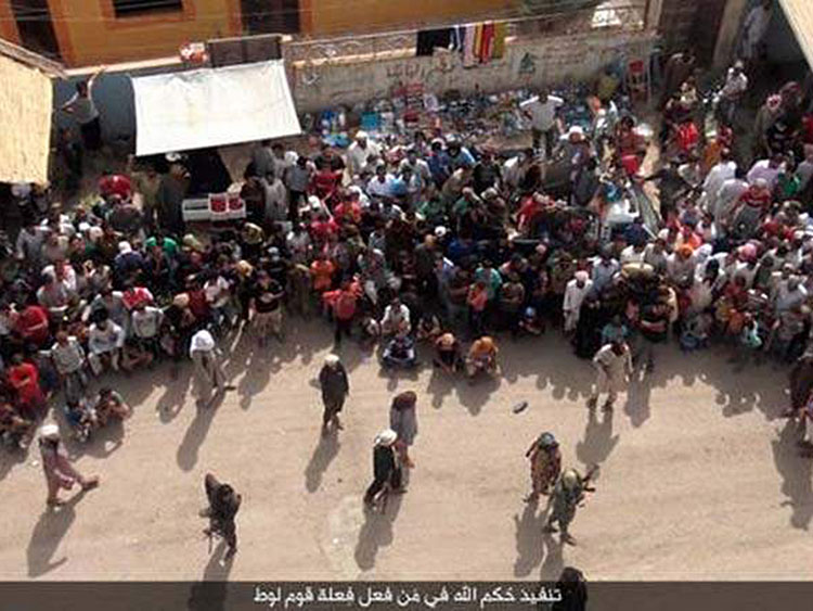 ISIS crowd