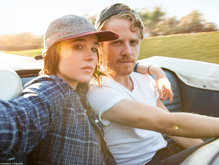 ellen page, viceland, gaycation