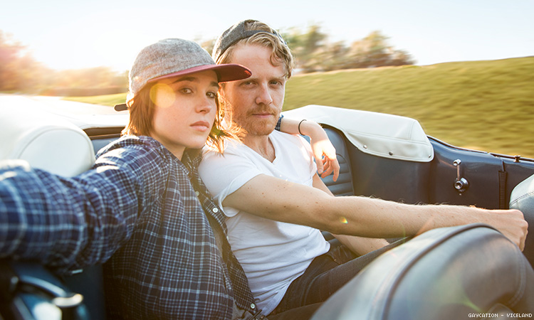 Ellen Page Gaycation Viceland The Advocate
