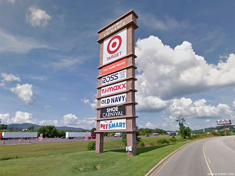 Target store at the Oxford Exchange shopping center in Alabama