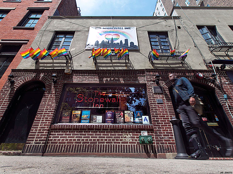 Stonewall to be Named 1st LGBT National Monument