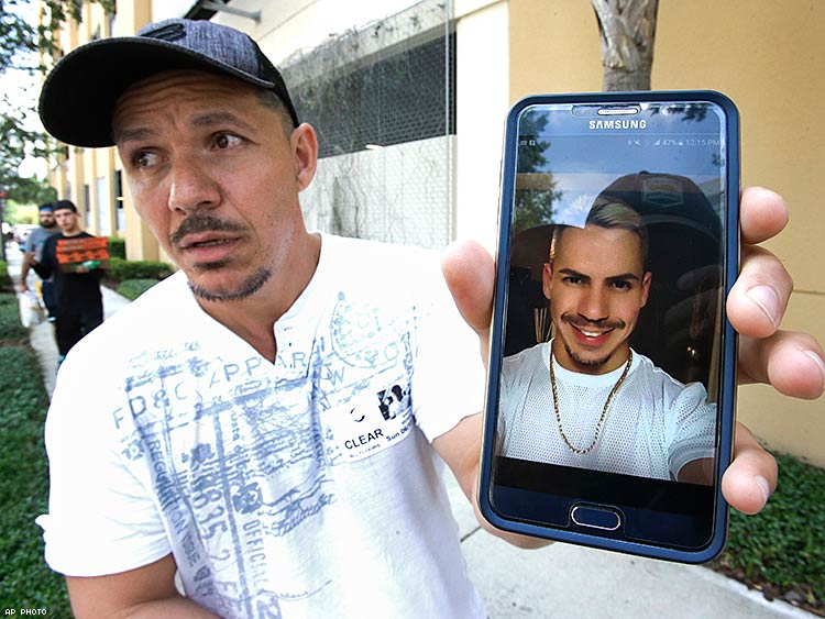 Angel Mendez trying to get information about his brother Jean C. Mendez