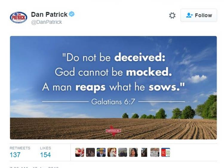 Reap What You Sow