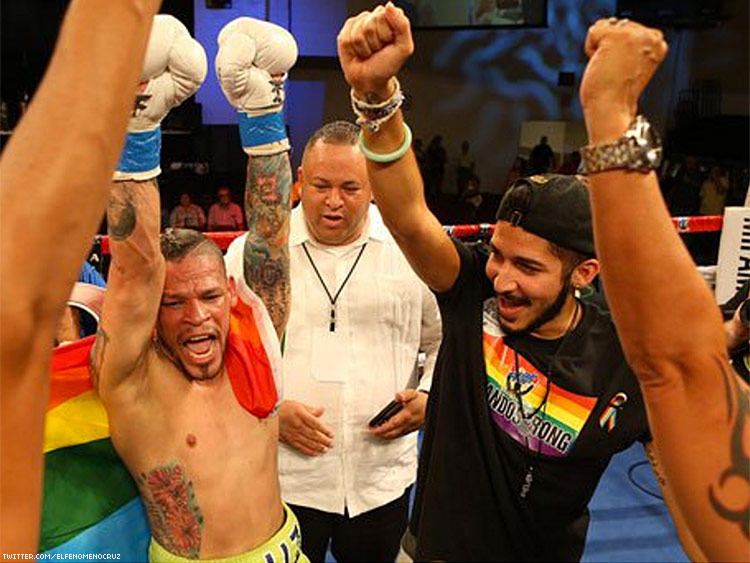 Gay Puerto Rican Boxer Wins Fight Dedicated to Orlando Victims
