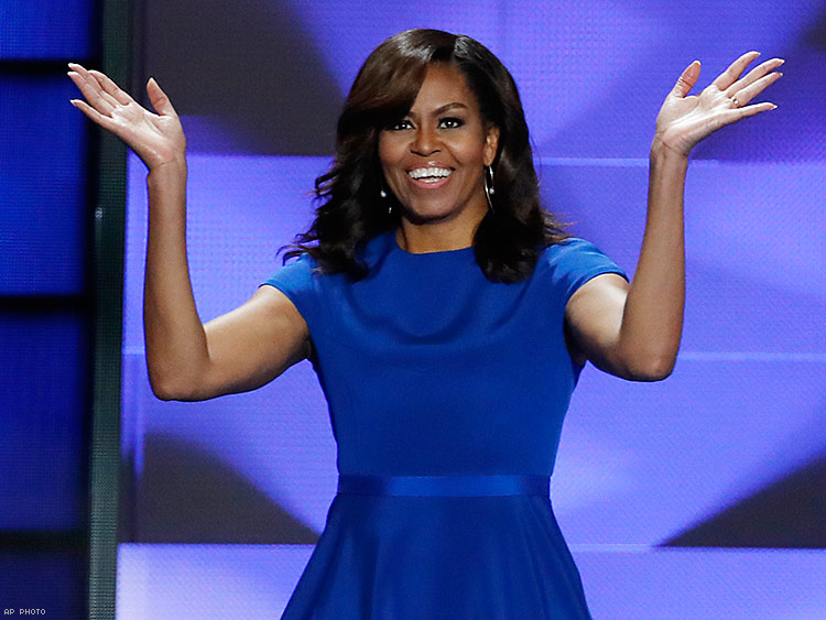 Michelle Obama Counteracts GOP Doom and Gloom