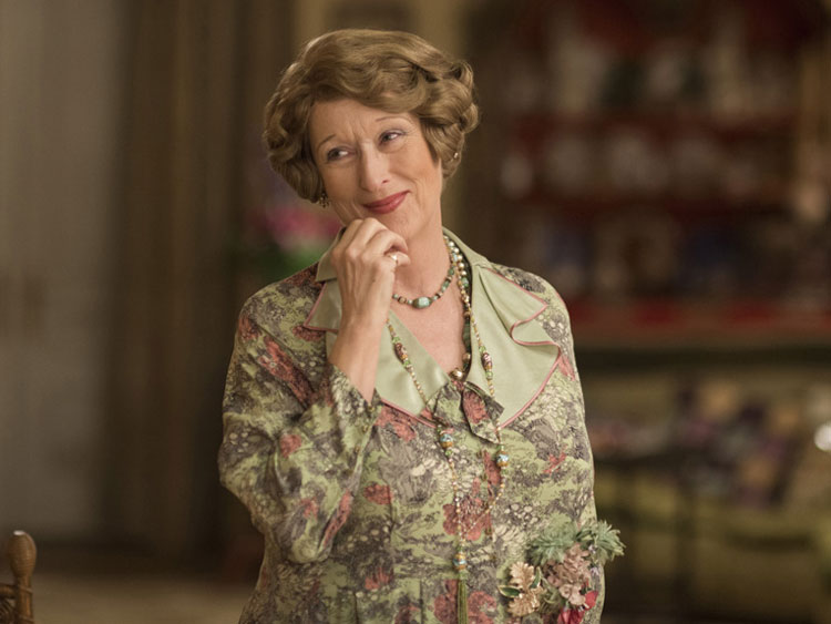 A photo of Meryl Streep from 'Florence Foster Jenkins.'