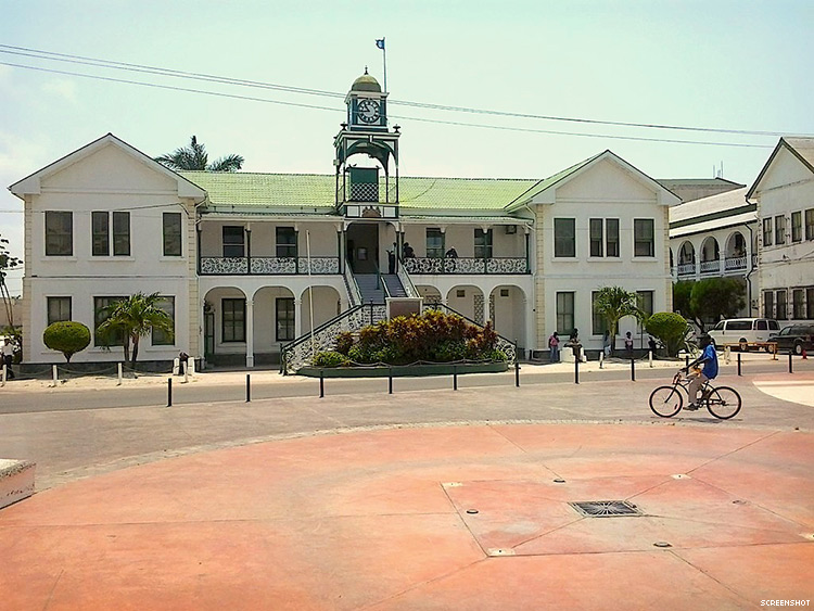Belize Supreme Court building