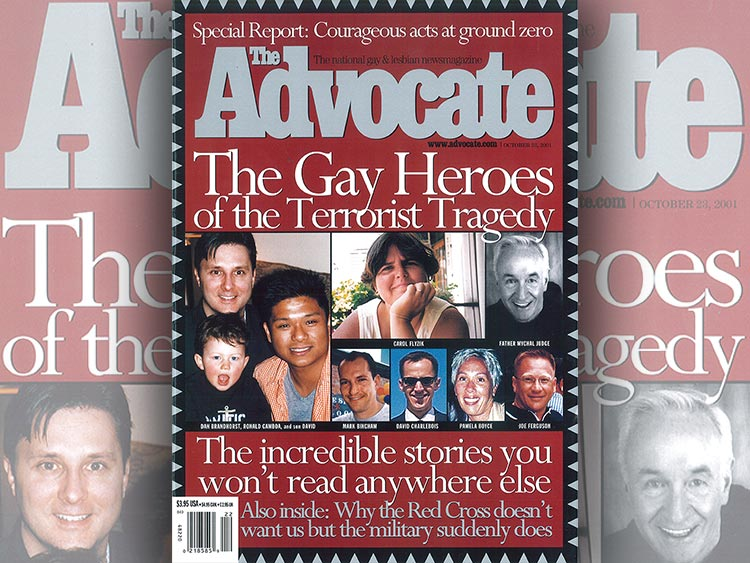 The Advocate October 23, 2011 Issue Cover