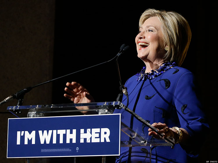Now I'm #ImWithHer, I Hope You Are Too