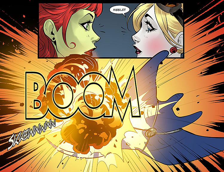 Bombshells Issue 79 Page 8x750