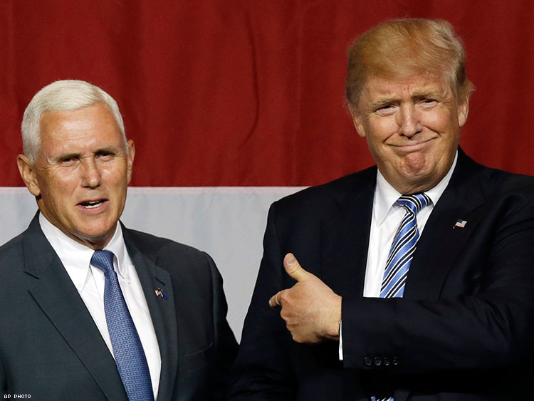 Donald Trump Should Take a Lesson From Mike Pence