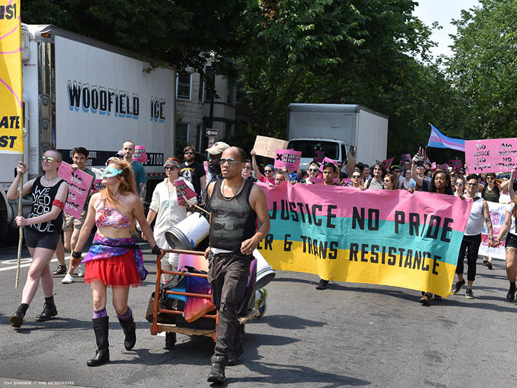 Group That Interrupted D.C. Pride Plans Action for NYC March