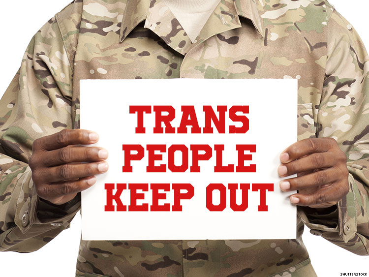 Trans People Keep Out