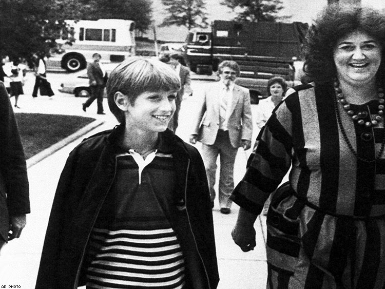 Ryan White and his mother Jeanne White-Ginder