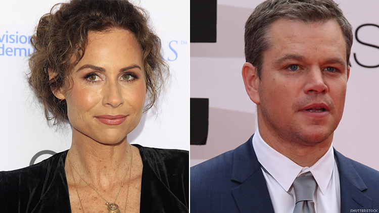 Minnie Driver Slams Matt Damon For Tone Deaf Sexual Harassment Comments