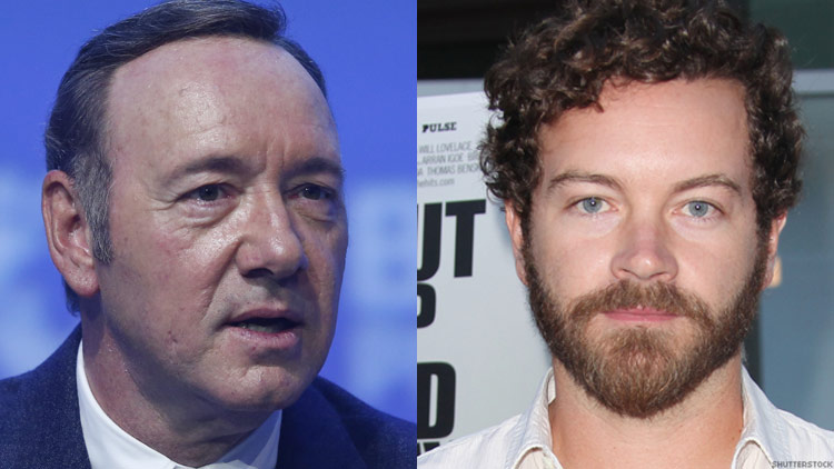 Kevin Spacey and Danny Masterson