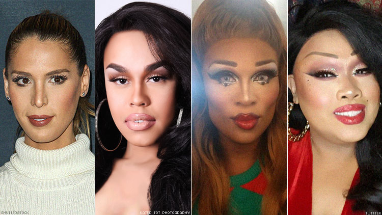 Carmen Carrera, Monica Beverly Hillz, Peppermint, Jiggle Caliente