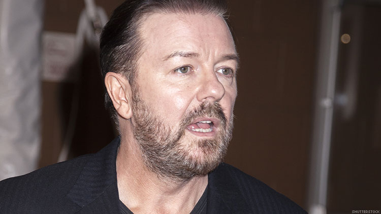 Ricky Gervais transphobia material.