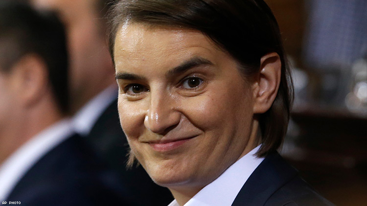 A Lesbian Prime Minister Oversees a New Gay Era for Serbia