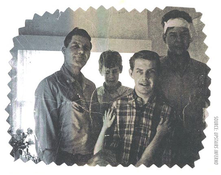 Uncle Norman Squires Mark Frost Larry Frost Don Frost Nancy Frost Spence Reaching Up