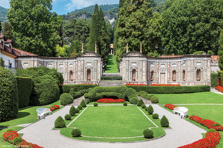 The Mosaic House at Villa D'Este