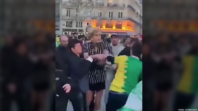 Trans woman attacked in Paris