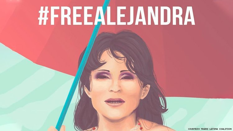 Activists Ban Together To Free Trans Woman Detained By ICE