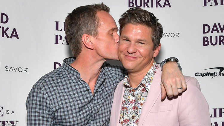 Neil Patrick Harris and David Burtka Show Married Gay Life Is a Party