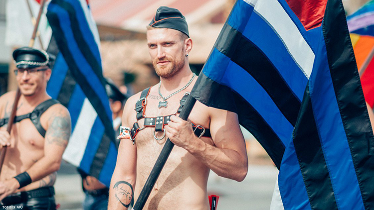 Leather at Pride by Tommy Wu