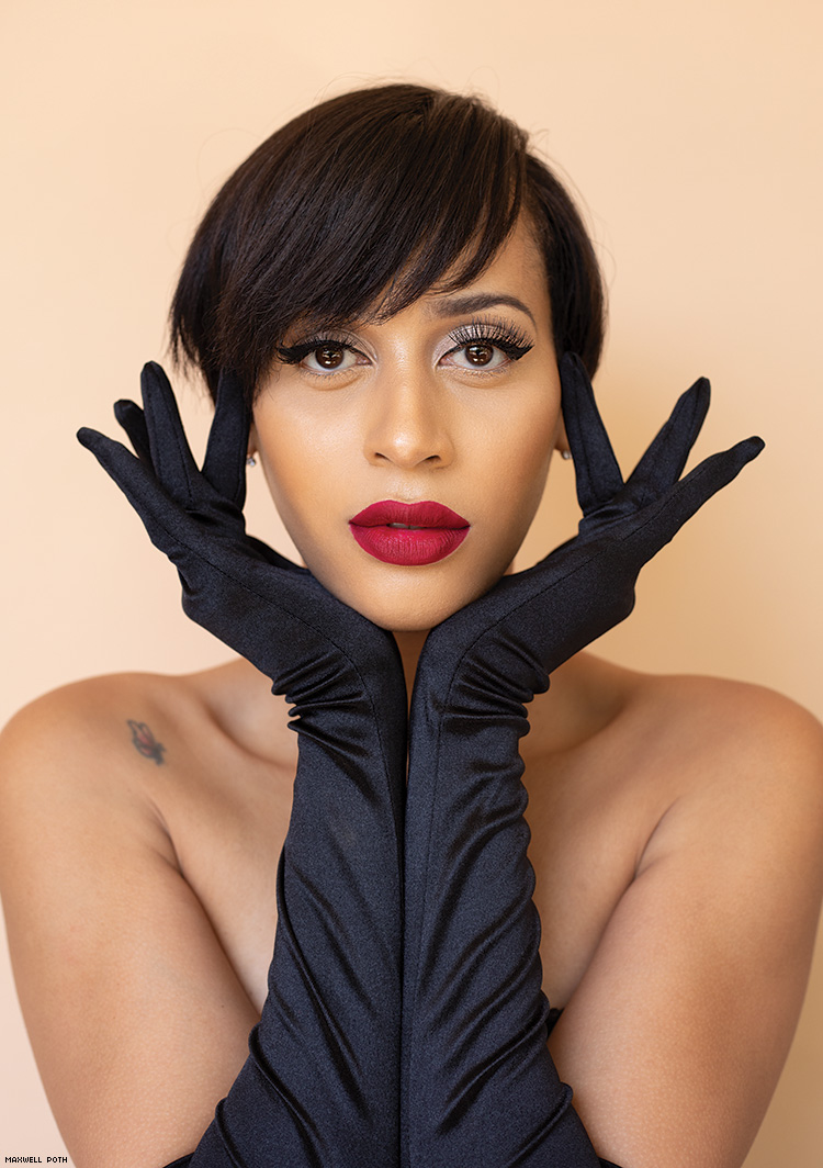 Isis King Photography by Maxwell Poth