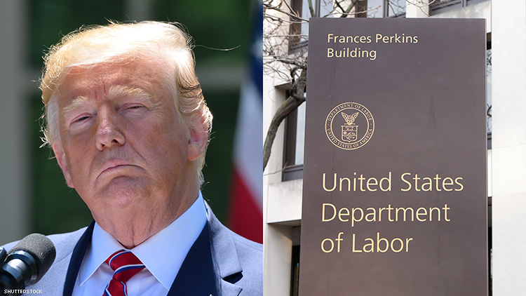 Trump and Labor Department