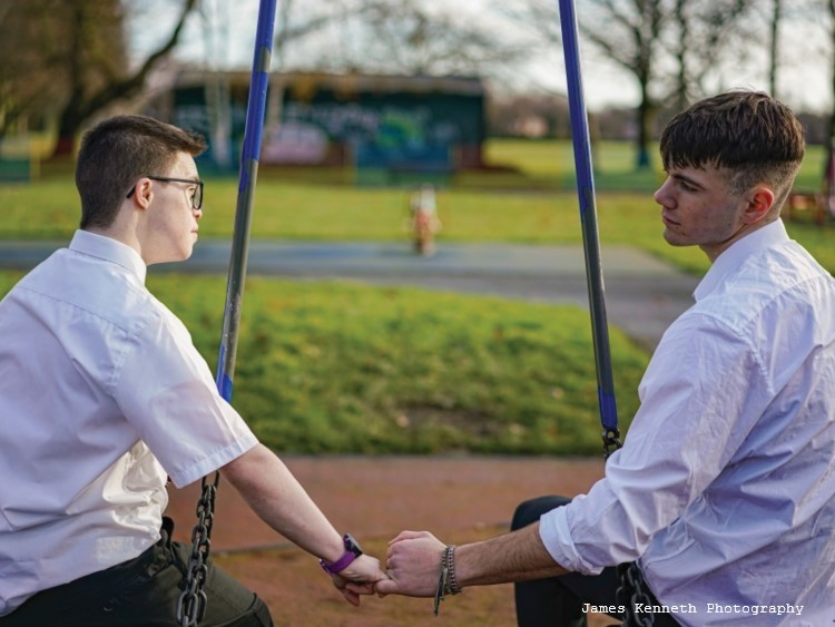 S.A.M. is a coming-of-age short film about two boys from dysfunctional homes on opposites sides of the tracks, one of whom is portrayed by George Webster, an actor with Down syndrome