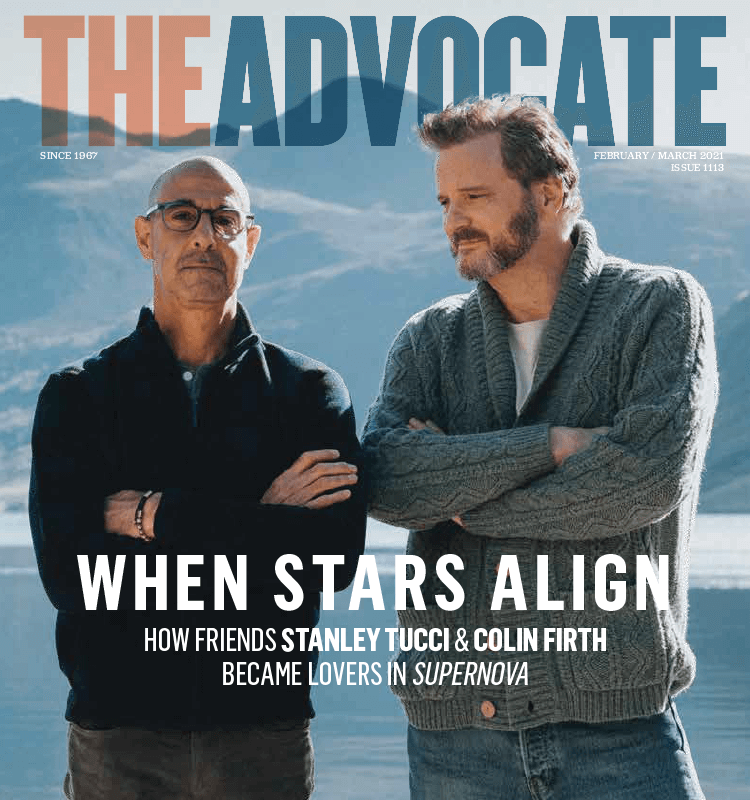 Colin Firth and Stanley Tucci talk dealing with dementia in Supernova and gay casting debates in Hollywood