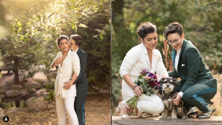 Bex Taylor-Klaus and Alicia Sixtos getting married