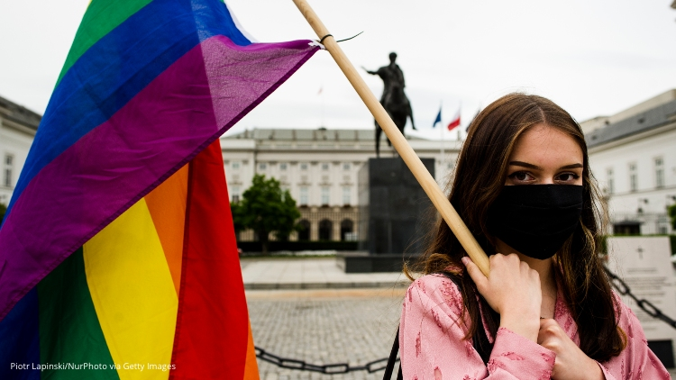 LGBTQ+ People Flee Poland as Homophobic President Is Sworn In