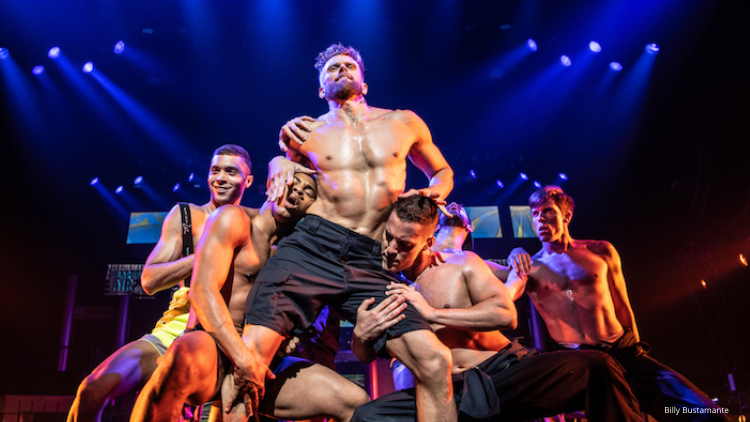 11 Sexy Sweaty Men Stripping Off Their Clothes For Broadway Bares