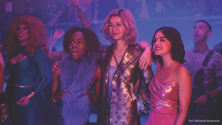 Riverdale S Lucy Hale Returns To Tv With Its New Queer Spinoff