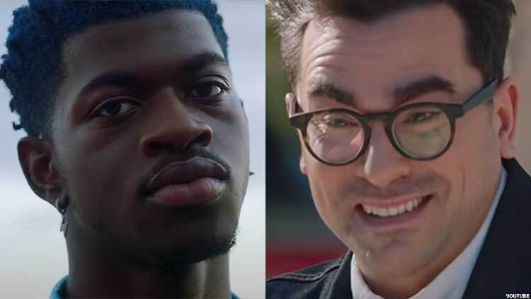Lil Nas X and Dan Levy