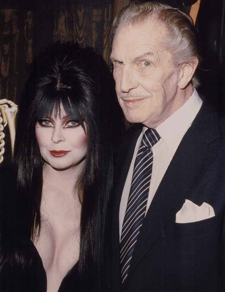 cassandra peterso and Vincent price